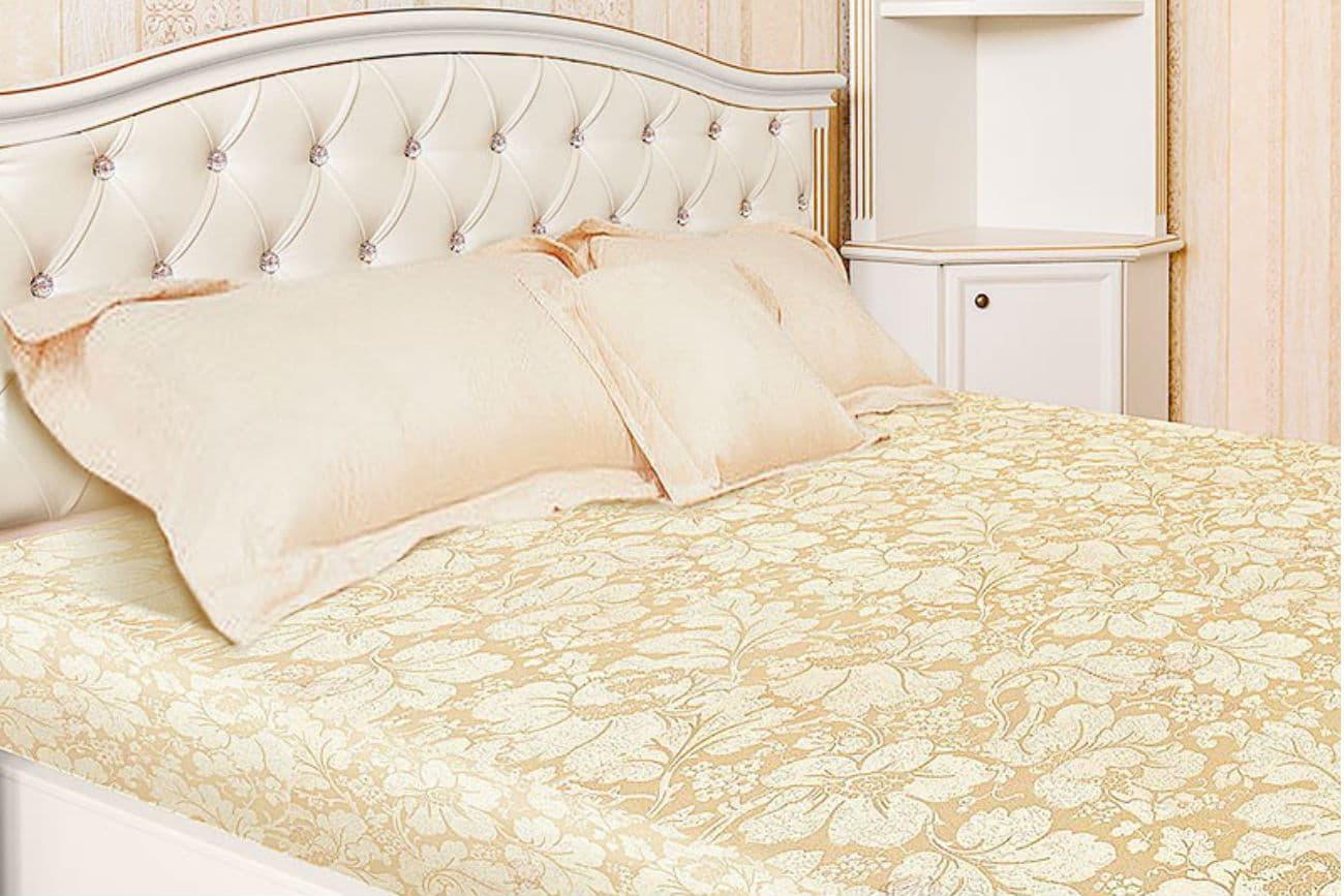 «Helen» Bett mit einem Eckregal passend zum Bett