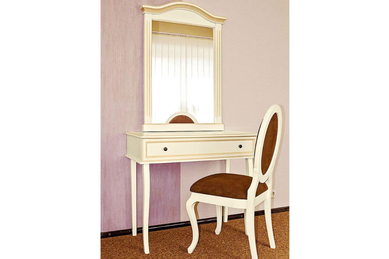 Frisiertisch «Viktoria» und Stuhl «Elegant»