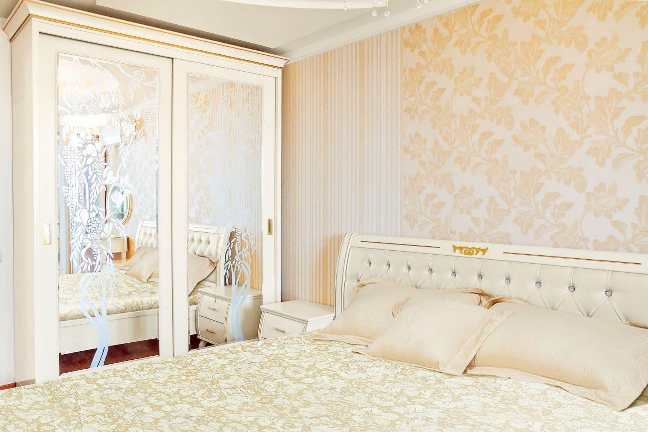Кровать и шкаф-купе «Княжна»