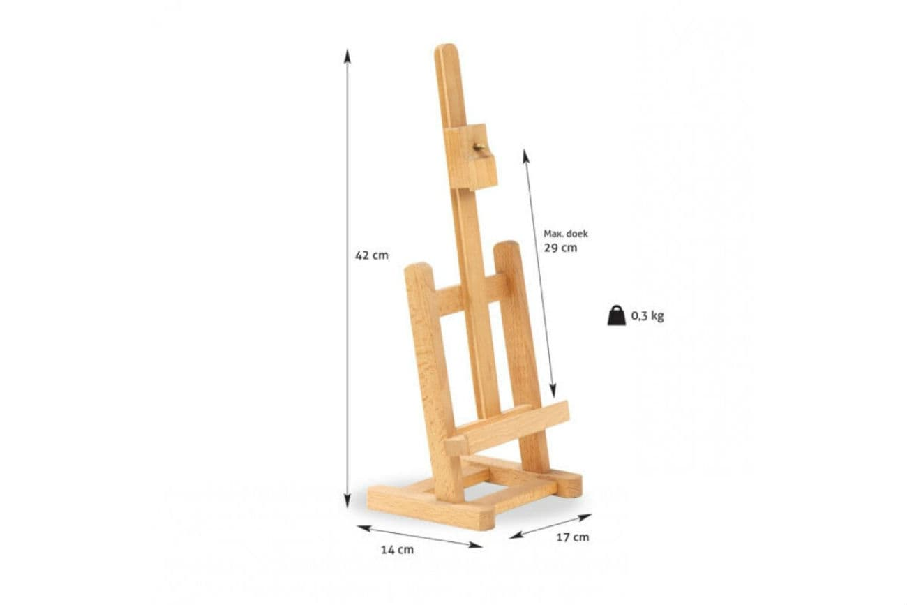 Maße der Staffelei, Modell «Amsterdam»