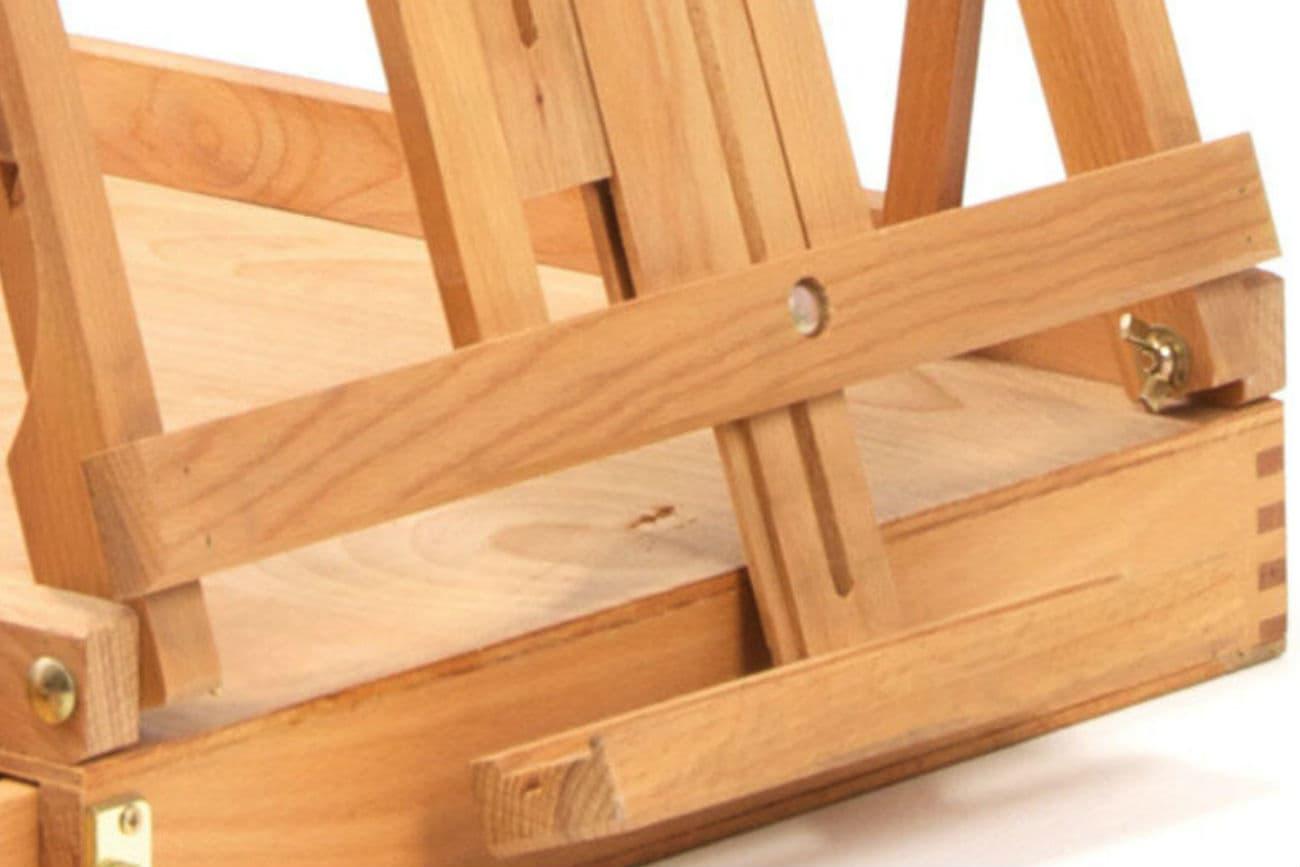 Tischstaffelei «Sofia aus Holz